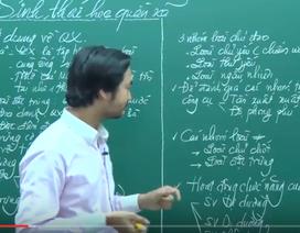 Video bài giảng Sinh học: Quần xã sinh vật