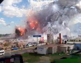 Chợ pháo hoa nổ dữ dội ở Mexico, 27 người chết
