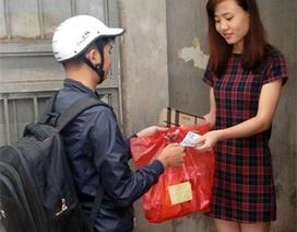 Cận Tết, sinh viên kiếm bộn tiền nhờ làm shipper