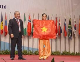 Nữ sinh chuyên Tự nhiên mang về HCV duy nhất cho đoàn Olympic Sinh học Việt Nam