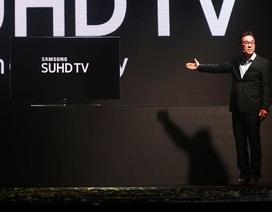 Samsung ra mắt tivi chấm lượng tử tại Việt Nam