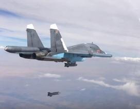 """Máy bay Nga, Mỹ """"đôi co"""" ở không phận Syria"""