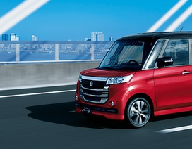 Suzuki Spacia Custom Z - Phòng ngủ di động