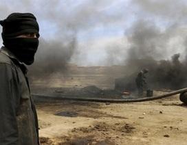 Các tay súng IS chiếm giếng khí đốt chính ở khu vực miền Đông Syria