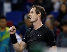 Paris Masters: Đối thủ bỏ cuộc, Murray vào chung kết