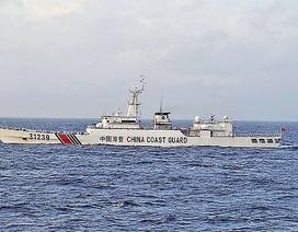 Tàu có vũ trang của Trung Quốc đi vào vùng biển Nhật Bản