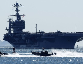 Trung Quốc không cho tàu sân bay Mỹ cập cảng
