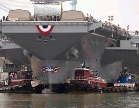 Siêu tàu sân bay 13 tỷ USD của Mỹ bị trục trặc