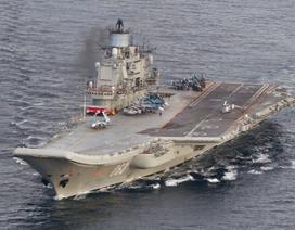 Nga điều tới Syria dàn tàu chiến lớn nhất kể từ Chiến tranh lạnh