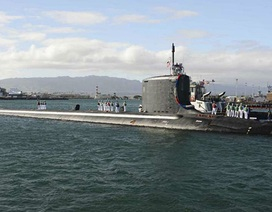 Tàu ngầm hạt nhân tàng hình của Mỹ cập cảng Hàn Quốc