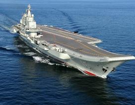 Trung Quốc nói tàu sân bay Liêu Ninh thử vũ khí ở Biển Đông