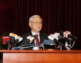 Tổng Bí thư: Công tác xây dựng Đảng còn khuyết điểm khiến dân chưa yên lòng