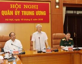 Bộ Chính trị chỉ định Quân ủy Trung ương
