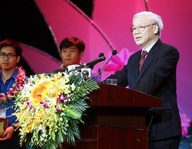 """Tổng Bí thư Nguyễn Phú Trọng: """"Thanh niên phải đóng vai trò tiên phong, gương mẫu"""""""