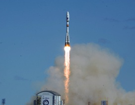 Cận cảnh tên lửa đầu tiên phóng đi từ sân bay vũ trụ mới của Nga