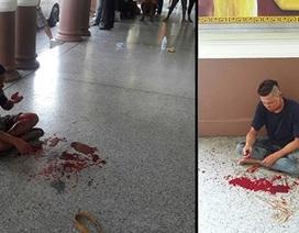 Hành khách hốt hoảng vì vụ nổ bom nhà ga ở Bangkok