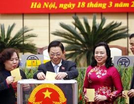 3 Giám đốc Sở trúng cử Phó Chủ tịch Hà Nội