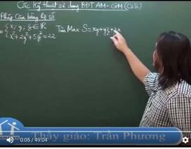 Video bài giảng ôn thi THPT quốc gia: Phương pháp cân bằng hệ số