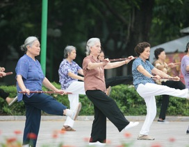 Hơn một nửa người cao tuổi không bao giờ tập thể dục