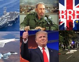 Những biến động lớn của thế giới năm 2016