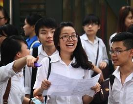 Bộ Giáo dục sẽ công bố 14 đề thi thử nghiệm của các môn thi năm 2017