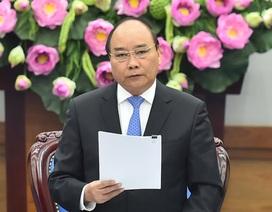 Thủ tướng: Phải hành động để không làm mất lòng dân