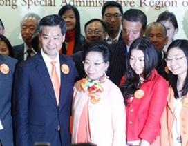 Bê bối đeo bám gia đình Trưởng Đặc khu hành chính Hongkong