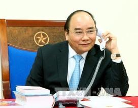 Thủ tướng Nguyễn Xuân Phúc điện đàm với Tổng thống đắc cử Hoa Kỳ Donald Trump