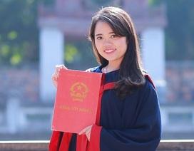 """Nữ thủ khoa """"kép"""" xuất sắc giành học bổng thạc sĩ Luật tại Mỹ"""