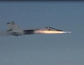 Tiêm kích đánh chặn MiG-31BM hạ mục tiêu từ khoảng cách 40km