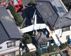 Nhật Bản: Tàu lượn đâm trúng nhà dân, 2 người chết