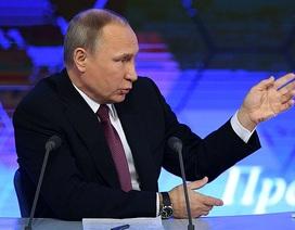 Ông Putin lần đầu lên tiếng về cáo buộc can thiệp bầu cử tổng thống Mỹ