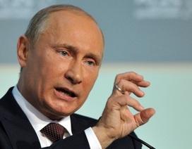 Tổng thống Putin cách chức 5 tướng Nga