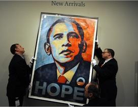 Vì sao họa sĩ vẽ chân dung tranh cử cho ông Obama từ chối vẽ bà Clinton?