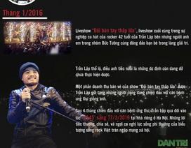 """[Infographics] Trần Lập - Chân dung """"người anh cả"""" của rock Việt"""