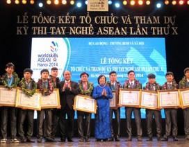 Tháng 9/2016: Việt Nam cử 44 thí sinh dự Kỳ thi tay nghề Asean lần thứ 11