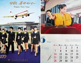 Triều Tiên đưa ảnh đội tiếp viên hàng không lên lịch 2017
