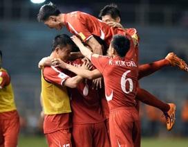 """CHDCND Triều Tiên mang đội hình """"khủng"""" đọ sức với đội tuyển Việt Nam"""