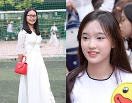 Ngắm nụ cười trong veo của nữ sinh Hà thành ngày khai trường