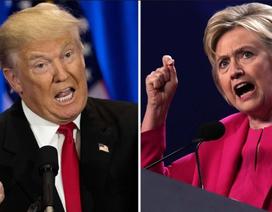 """Ông Trump và bà Clinton """"quyết đấu"""" tại các bang chiến trường"""