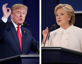"""Ứng viên tổng thống Mỹ tranh luận: Clinton chế giễu Trump """"nước mắt cá sấu"""""""
