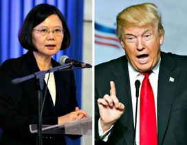 """Ông Trump có thể """"chọc giận"""" Trung Quốc vì điện đàm với lãnh đạo Đài Loan"""