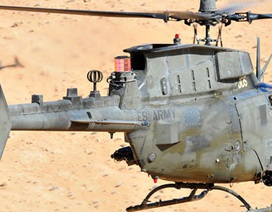 Cận cảnh trực thăng quân sự Kiowa của Lục quân Mỹ bay rợp trời