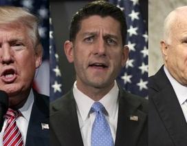 """Đảng Cộng hòa Mỹ trên bờ vực """"nội chiến"""" sau loạt bê bối của Donald Trump"""