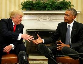 """Tổng thống Obama - """"đại sứ"""" đầu tiên của ông Trump"""