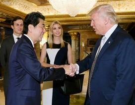 Trung Quốc nói gì về cuộc họp kín giữa Thủ tướng Nhật và Tổng thống đắc cử Trump?