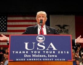 """Ông Trump: Nói Nga can thiệp bầu cử tổng thống Mỹ là """"lố bịch"""""""