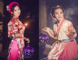 Thiếu nữ cosplay tuyệt đẹp đón Trung thu