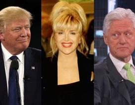 Donald Trump dọa đưa tình cũ của ông Bill Clinton đến cuộc tranh luận trực tiếp đầu tiên