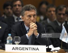 Tổng thống Argentina bị điều tra quan hệ làm ăn với công ty ở Panama